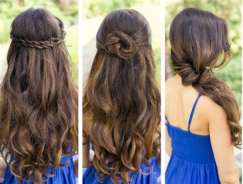 simple quick hairstyles  girls easy hairstyles  girls