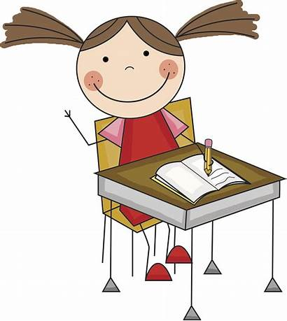 Clipart Desk Cliparts Library Writing Clip