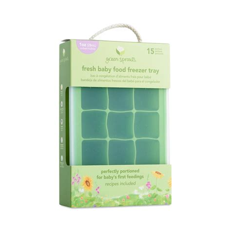 Green Sprouts Green Freezer Tray Thrive Market