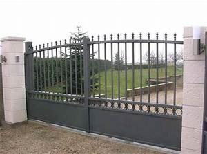Portail Coulissant Castorama : portail coulissant castorama ~ Edinachiropracticcenter.com Idées de Décoration