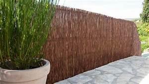 Pare Vue Pas Cher : brise vue pas cher pour jardin brise vue noir 2m exoteck ~ Premium-room.com Idées de Décoration