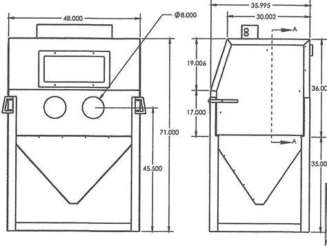 Media Blasting Cabinet Plans raptor blaster rb4836 abrasive media blasting cabinet