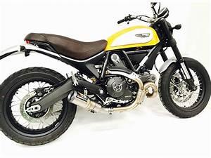 Ducati Scrambler 800 : austin racing ducati scrambler 400 800 de cat exhaust mx alliance ~ Medecine-chirurgie-esthetiques.com Avis de Voitures