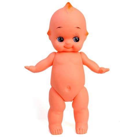 Kewpie Doll L by Large Kewpie Doll Baby Cupie Vintage Cameo Figurine Rubber