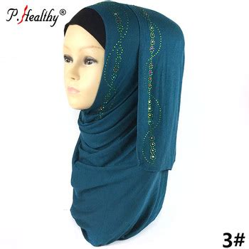wholesale  fashion plain muslim women hijab cotton scarf jersey stone hijab buy high