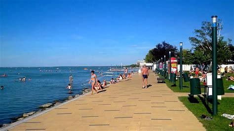 Balaton - Siófok Beach 2014 - YouTube