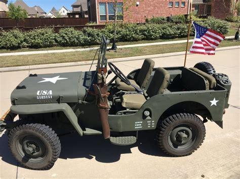 1948 Willys Jeep CJ 2A for sale