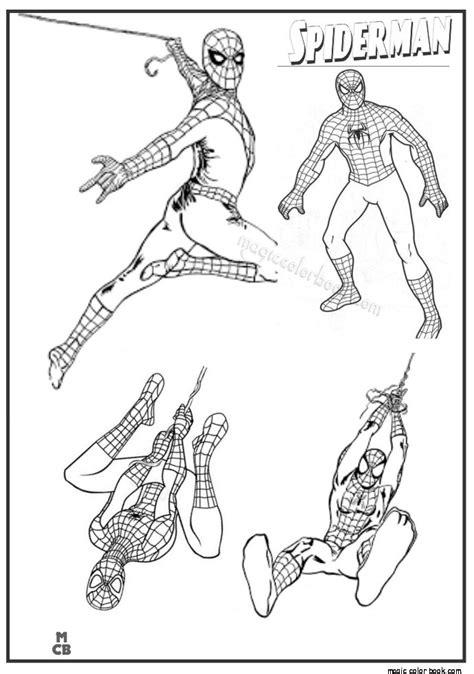 mejores  imagenes de spiderman coloring en pinterest