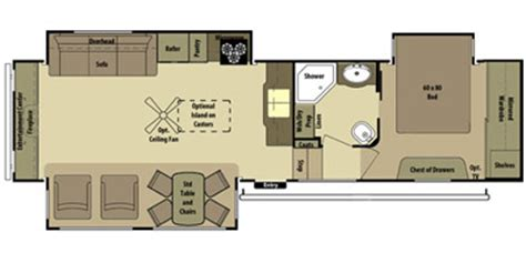 open range roamer rv floor plans 2014 open range rv roamer fifth wheel series m 357res