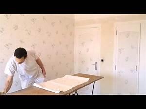 pose de papier peintwmv youtube With pose de papier a peindre
