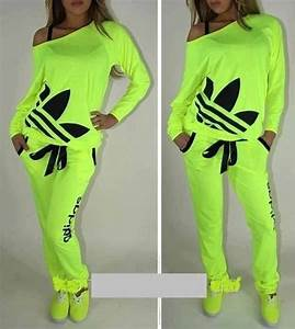 Shirt adidas womens highlighter neon clothes off the ... | CrazySexy Cool... | Pinterest ...