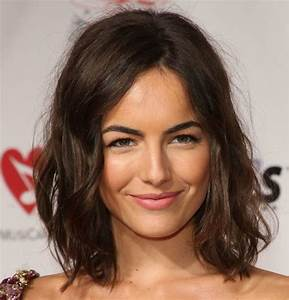 New Hairstyle 2014: Medium Dark Hairstyles Wavy Photos