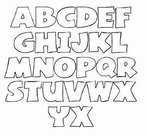 alphabet font templates my traceables pinterest With font templates to print