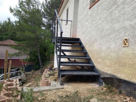 fabrication d un escalier fabrication d un escalier en fer a aubagne ferronnerie devey