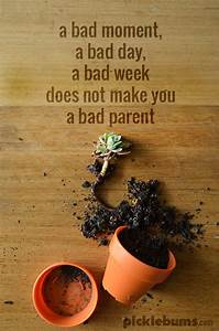 Just a Bad Day ... Crappy Parenting Quotes