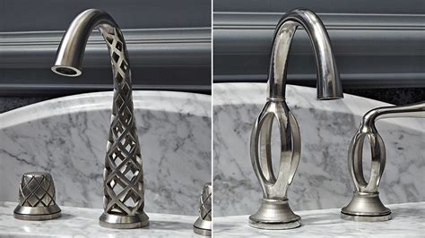 kitchen sink faucet reviews these impossibly twisted 3d printed taps somehow actually