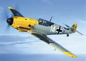 German Messerschmitt WWII Bf 109
