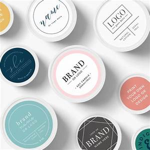 custom logo stickers custom logo labels custom product With custom cosmetic labels