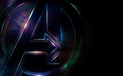wallpaper avengers infinity war logo  movies