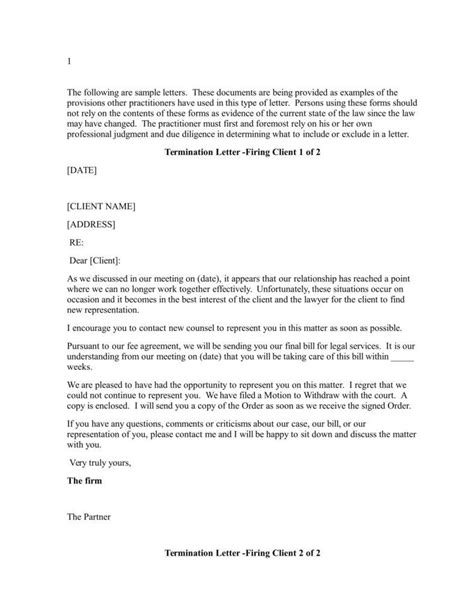lawyer termination letter charlotte clergy coalition