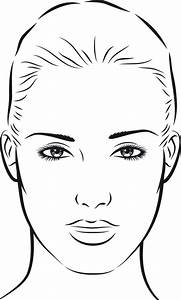 15 Best Images Of Blank Face Diagram Botox