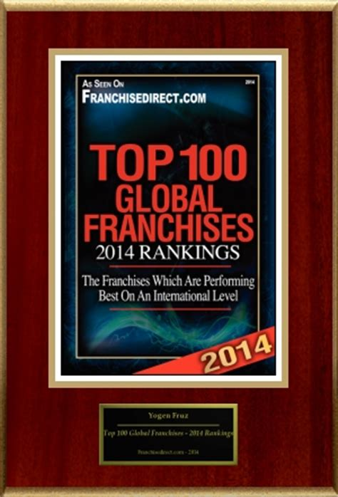 top 100 franchises rankings of global franchises auto