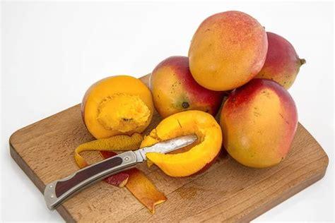 mango schale essen kann die schale mangos so wie bei kiwis mitessen