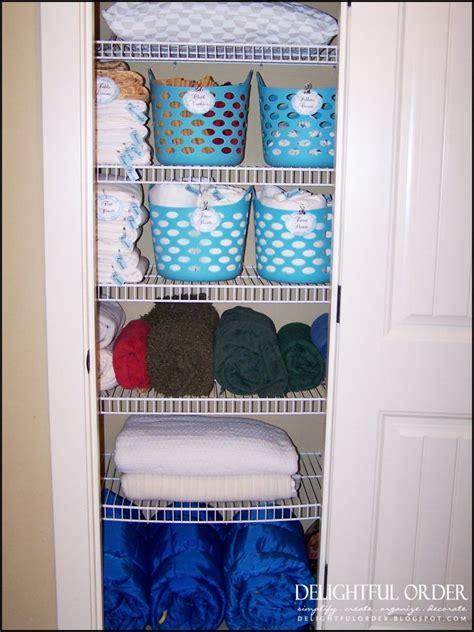 linen closet ideas 30 diy storage ideas to organize your bathroom diy