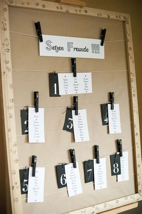 table seating chart ideas  pinterest table