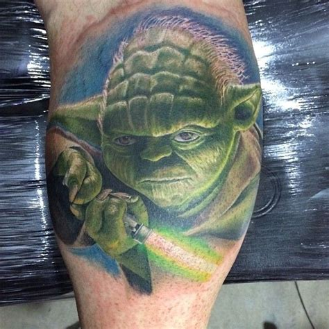 Baby Yoda Temporary Tattoo