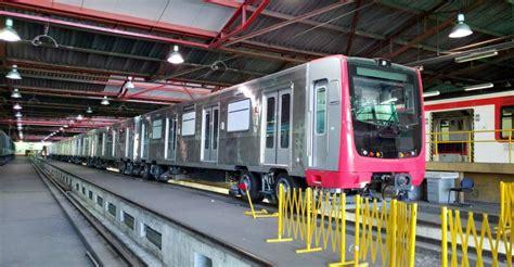 metro de santiago prueban nuevos trenes alstom