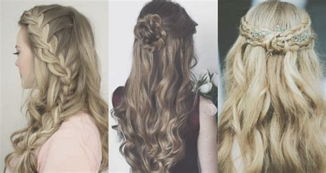 Half Up-do Quinceanera Hairstyles For Your Style