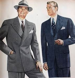 1940s Style Men's Clothing: Suits, Shirts, Pants, Hats, Shoes