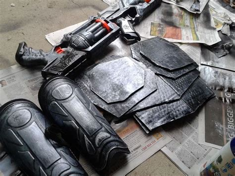 Hired Gun Lucian Cosplay Props By Skull-baby On Deviantart