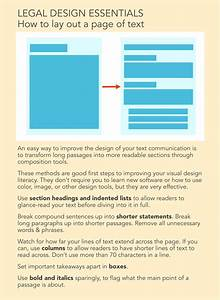 Legal Design Essential  How To Lay Out Text In Better Ways