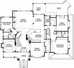 central kitchen is heart of open floor plan 23205jd With centralized floor plan