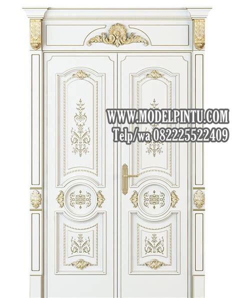 pintu utama rumah mewah perumahan elite jakarta model