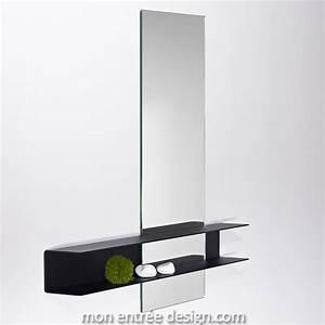 Tagre Avec Miroir Design Slide Double Deknudt