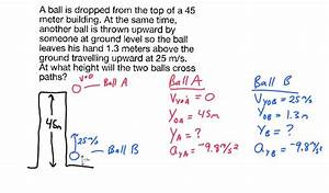 Kinematic Equations Physics Problems