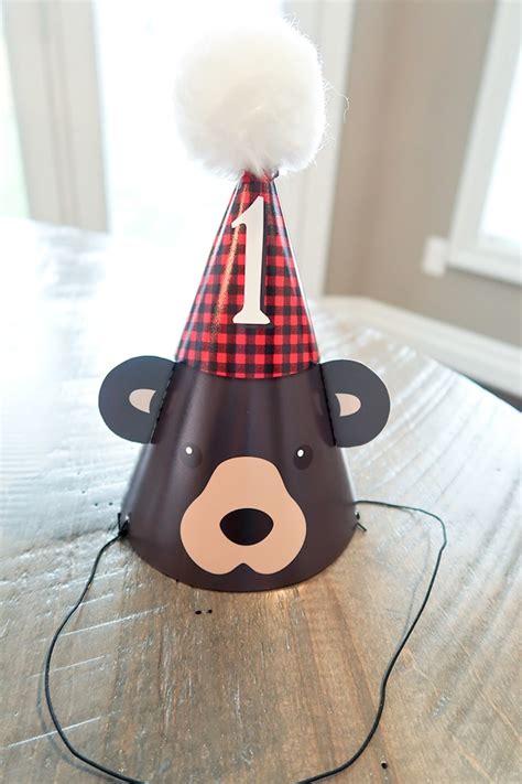 karas party ideas baby bear lumberjack birthday party