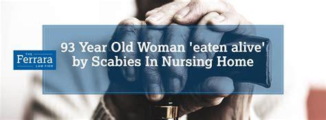death linked  scabies infestation  nursing home