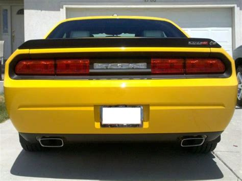 dodge challenger taillight blackout decal rocky