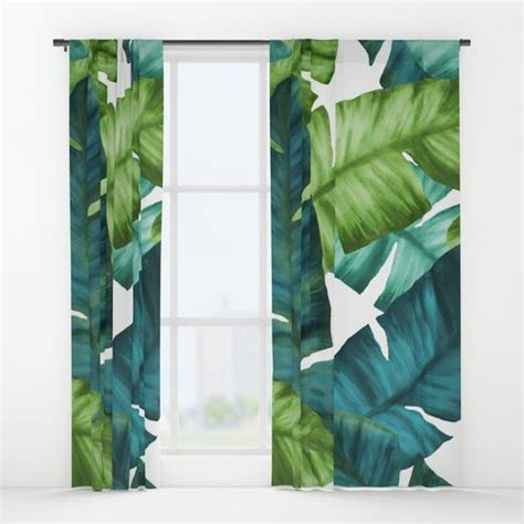 17 best ideas about tropical curtain rods on