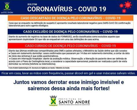 Covid-19   Boletim Santo André   12/07/21
