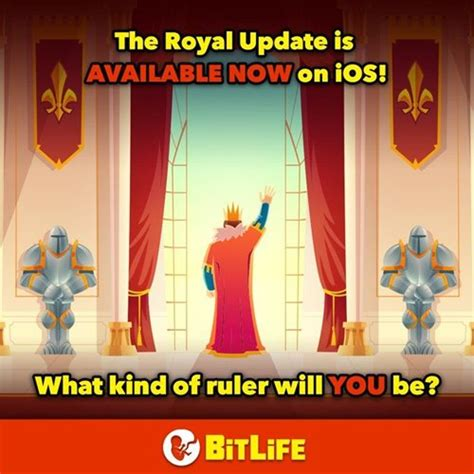 bitlife become queen king