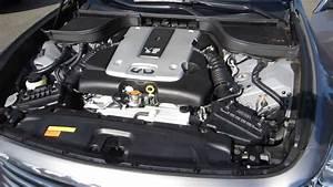 2008 Infiniti G35  Platinum Graphite - Stock  14692a - Engine