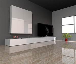 Meubles Besta Ikea : meuble tv besta blanc planche bois ~ Nature-et-papiers.com Idées de Décoration