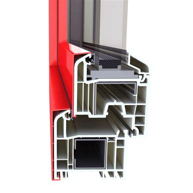 double casement window inalpha   block frame installation alphacan italia