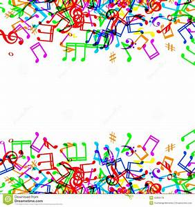 Colourful Musical Notes Clip Art (74+)