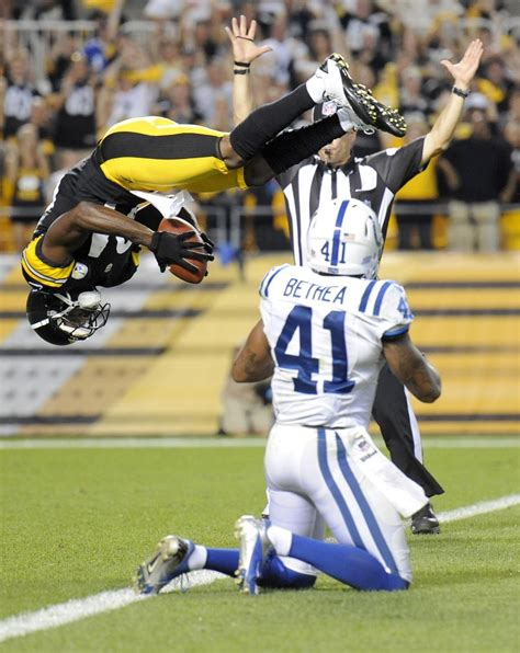 NFL.com Photos - Colts Steelers Football - Antonio Brown ...